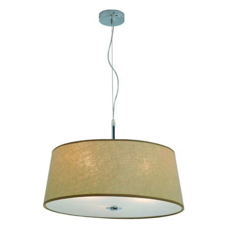 Luxera 18030 - Lampa wisząca COMBO 3xE27/60W/230V