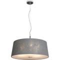 Luxera 18031 - Lampa wisząca COMBO 3xE27/60W/230V