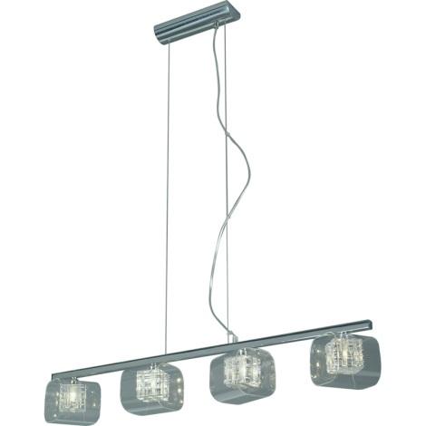 Luxera 46001 - Lampa wisząca TOGO 4xG9/40W/230V
