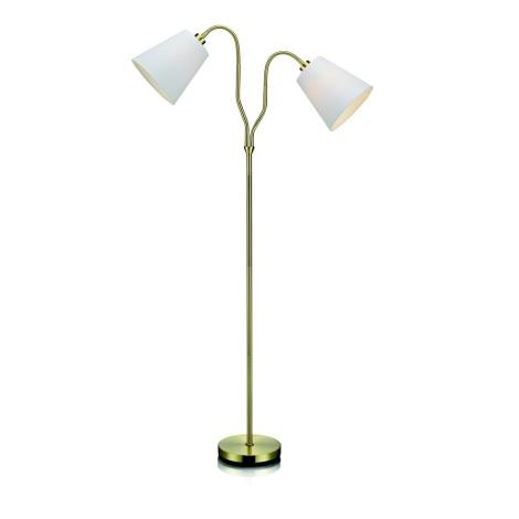Markslöjd 105274 - Lampa podłogowa MODENA 2xE27/60W/230V