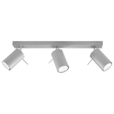 Oświetlenie punktowe sufitowe RING 3xGU10/40W/230V