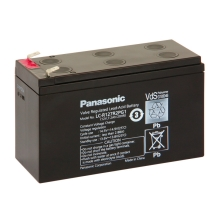 Panasonic LC-R127R2PG1 - Akumulator ołowiowy 12V/7,2Ah/faston 6,3mm