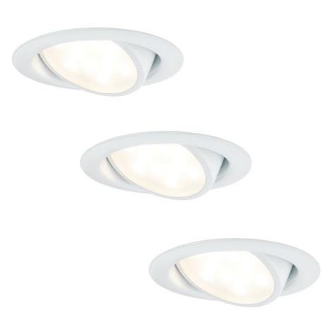 Paulmann 92091 - ZESTAW 3x LED Oprawa wpuszczana 3xLED/4,2W/230V