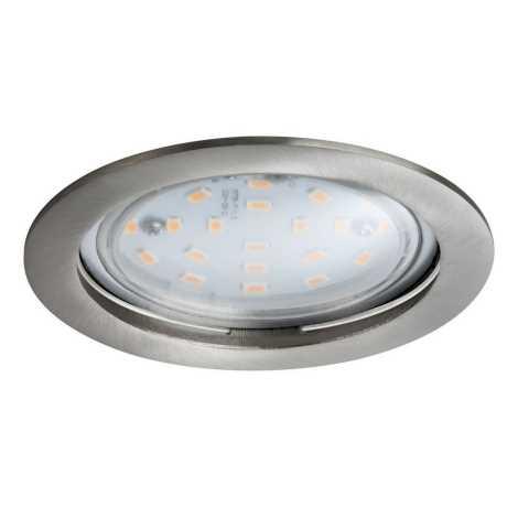 Paulmann 92782 - LED/14W Ściemnialne wpuszczane oświetlenie łazienkowe COIN 230V IP44