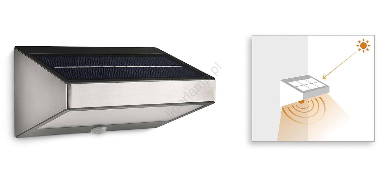 Philips 178114716 Lampa Solarna Led Z Czujnikiem Ruchu Mygarden Greenhouse 1xled15w230v