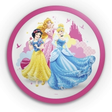 Philips 71760/28/16 - LED Kinkiet dziecięcy DISNEY PRINCESS 1xLED/4W/230V