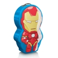 Philips 71767/35/16 - LED Latarka dziecięca DISNEY IRON MAN 1xLED/0,3W/2xAAA