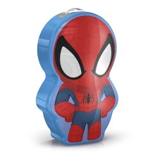 Philips 71767/40/16 - LED Latarka dziecięca DISNEY SPIDER-MAN 1xLED/0,3W/3V