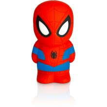 Philips 71768/40/16 - LED  Lampa dziecięca  DISNEY SPIDER-MAN 2xLED/0,2W/2xAAA