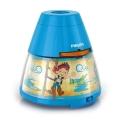 Philips 71769/05/16 - LED Projektor dziecięcy DISNEY PIRATE LED/0,1W/3xAA