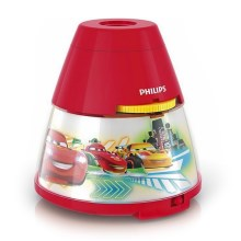 Philips 71769/32/16 - LED Projektor dziecięcy DISNEY CARS LED/0,1W/3xAA