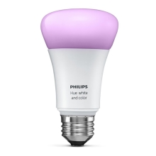 Philips 8718696592984 - LED ściemniania żarówka HUE WHITE AND COLOR AMBIANCE 1xE27/10W/230V