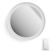 Philips HUE - LED Ściemnialne lustro łazienkowe LED/40W IP44