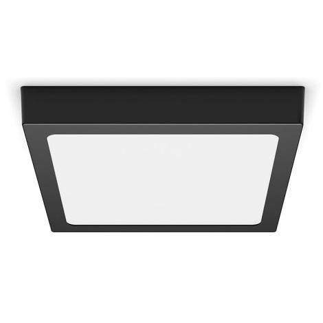 Philips - LED Plafon LED/12W/230V 2700K czarny