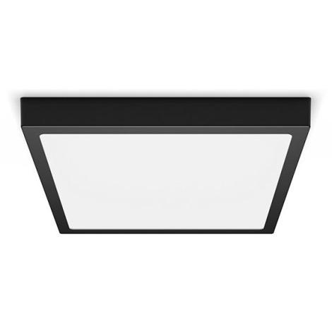 Philips - LED Plafon LED/20W/230V 2700K czarny