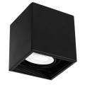 Plafon DOWNLIGHT 1xGU10/8W/230V czarny