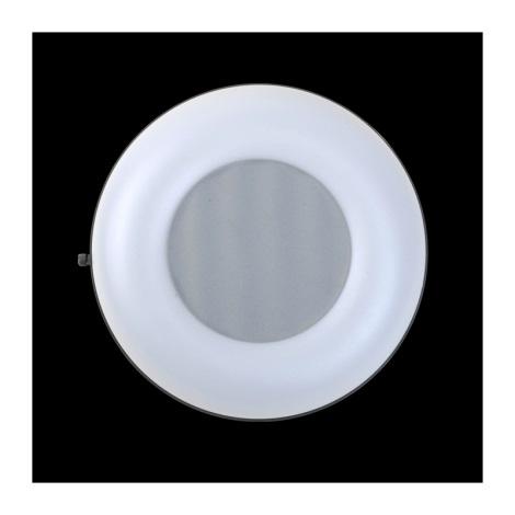Plafon łazienkowy ORIGO 1xE27/60W srebrny