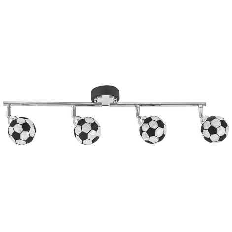 Rabalux 4474 - LED Oświetlenie punktowe dziecięce 4xG9/4W/230V biały