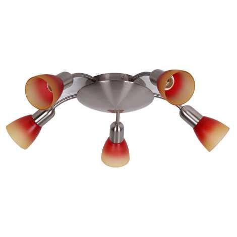 Rabalux 6315 - Lampa sufitowa RAINBOW 2 5xE14/40W/230V