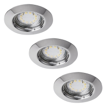 Rabalux - SET 3x LED oprawa 3xGU10-LED/3W/230V