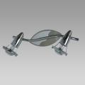 Reflektor ZEUS 2xE14/R50/40W mat. chrom/chrom