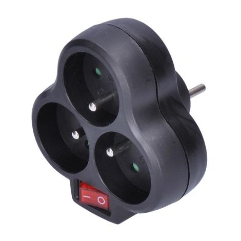Rozgałęźnik 3x10A/230V