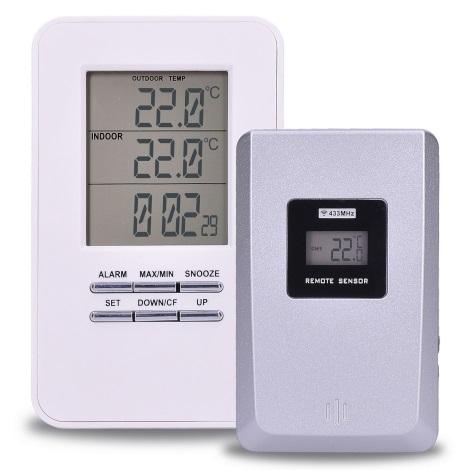 Termometr cyfrowy z czujnikiem 2xAAA