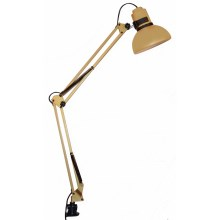Top Light - Lampa stołowa HANDY 1xE27/60W/230V złota