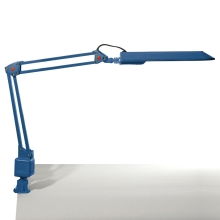 Top Light - Lampa stołowa OFFICE 1x2G7/11W/230V niebieska