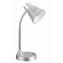 Top Light - Lampa stołowa SILVIA 1xE14/40W/230V srebrna