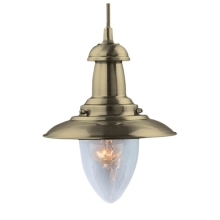 Top Light - Lampa wisząca FISHERMAN 1 AB 1xE27/60W
