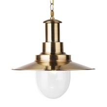 Top Light - Lampa wisząca FISHERMAN 40 AB 1xE27/60W