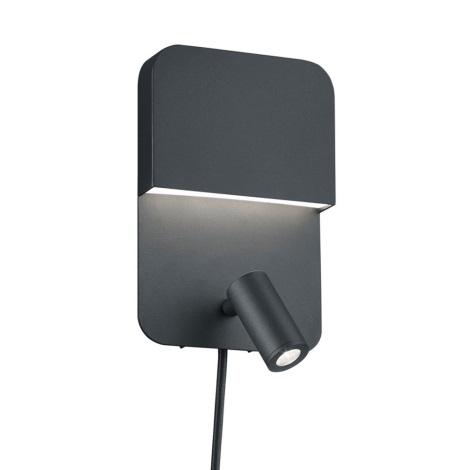 TRIO - LED Kinkiet LUIGI LED/5W/230V + LED/2,3W