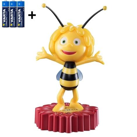 Varta 15635 - LED Dziecięca lampka nocna MAYA THE BEE LED/3xAA