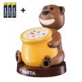 Varta 17501 - LED Projektor dziecięcy PAUL 2xLED/3xAA