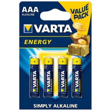 Varta 4103 - 4 szt. Baterii alkalicznych ENERGY AAA 1,5V