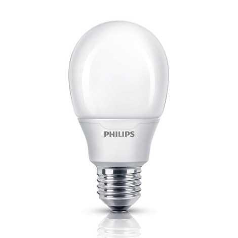 Modernistyczne Żarówka energooszczędna Philips E27/11W/230V 2700K | Liderlamp.pl OT31