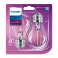 ZESTAW 2x LED Żarówka VINTAGE Philips E27/4W/230V 2700K