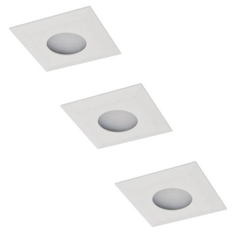 ZESTAW 3x LED Oprawa wpuszczana 3xLED/2,3W/230V