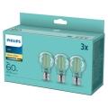 ZESTAW 3x LED Żarówka VINTAGE Philips A60 E27/7W/230V 2700K