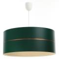 Żyrandol na lince GLAM HOME 1xE27/60W/230V śr. 40 cm zielony
